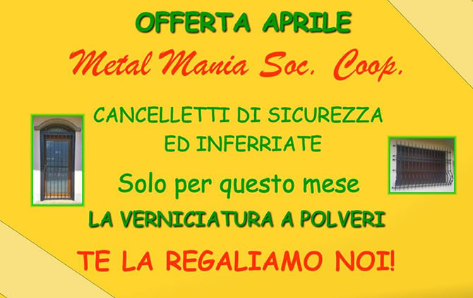 Cancelletti di Sicurezza ed Inferriate