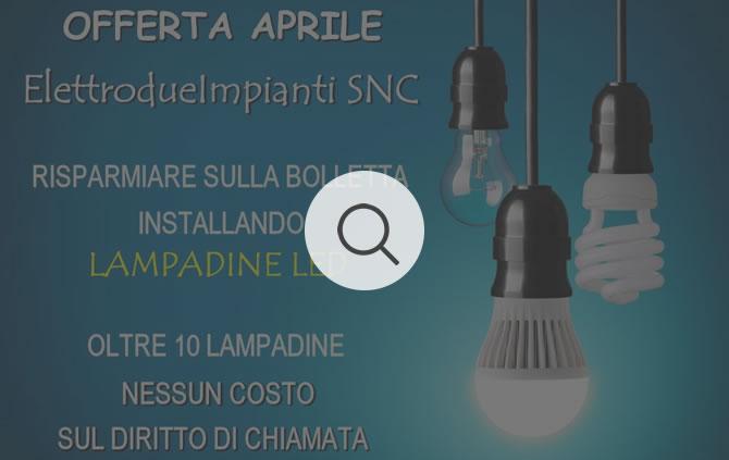 10 Lampadine a LED Aprile