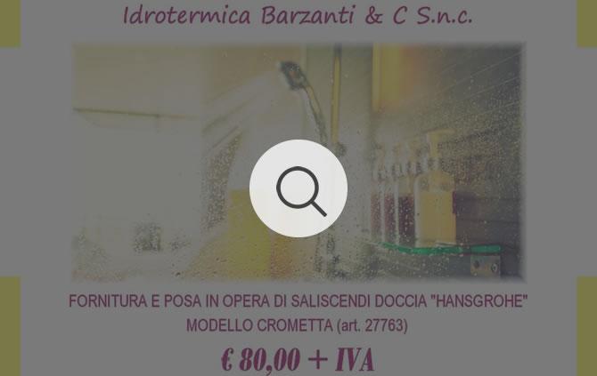 """Fornitura e Posa di Saliscendi Doccia """"Hansgrohe"""" Modello Crometta"""