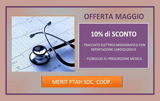 Tracciato Elettrocardiografico con Refertazione Cardiologica e Fleboclisi su Prescrizione Medica