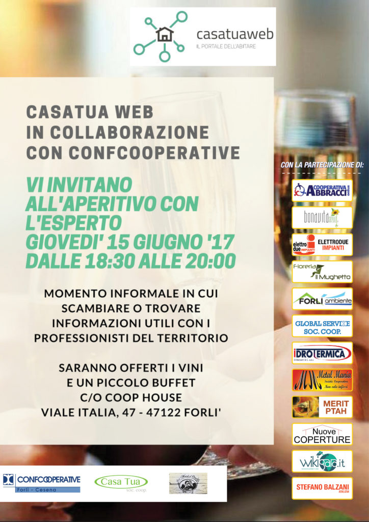CasatuaWeb e Confcooperative 15/06 aperitivi-con-lesperto-15-giugno-724x1024