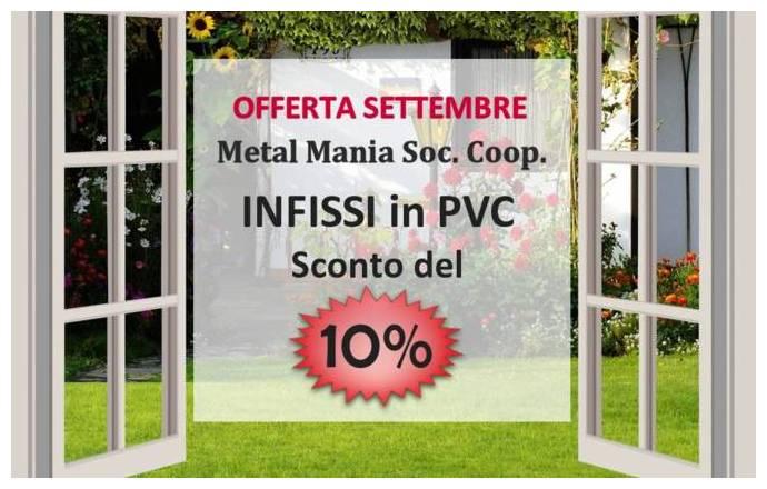 10% su Infissi PVC