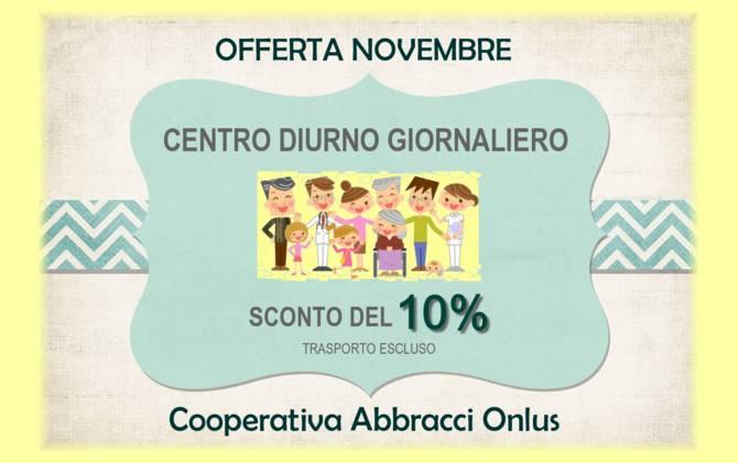 Offerta Novembre - Abbracci Onlus SCONTO-ABBRACCI-SITO