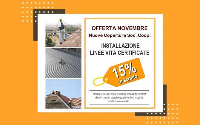 Installazione Linee Vita Certificate