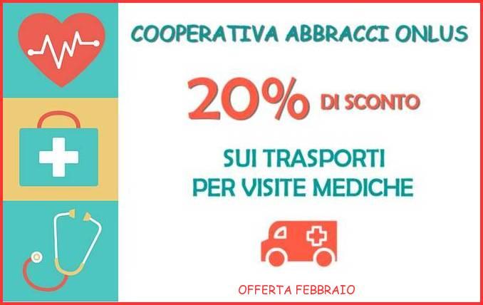 Offerta Febbraio - Cooperativa Abbracci Onlus SCONTO-ABBRACCI-SITO
