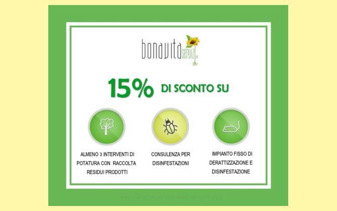 Offerta Marzo - Bonavita Servizi Srl SCONTO-BONAVITA-SITO