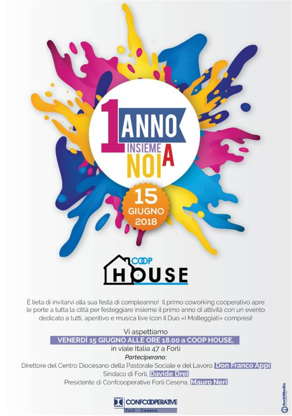 1° Compleanno COOP HOUSE Festa-Coop-House-15.06.2018-1