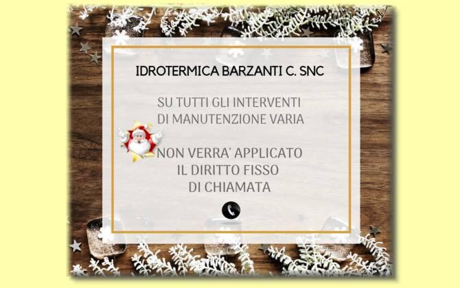 Offerta Dicembre - Idrotermica Barzanti & C. Snc SCONTO-BARZANTI-SITO