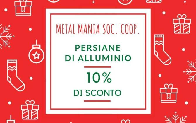 Offerta Dicembre - Metal Mania Soc. Coop. SCONTO-METAL-MANIA-SITO