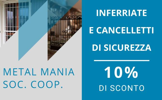 Offerta Febbraio - Metal Mania Soc. Coop. SCONTO-METAL-MANIA-SITO