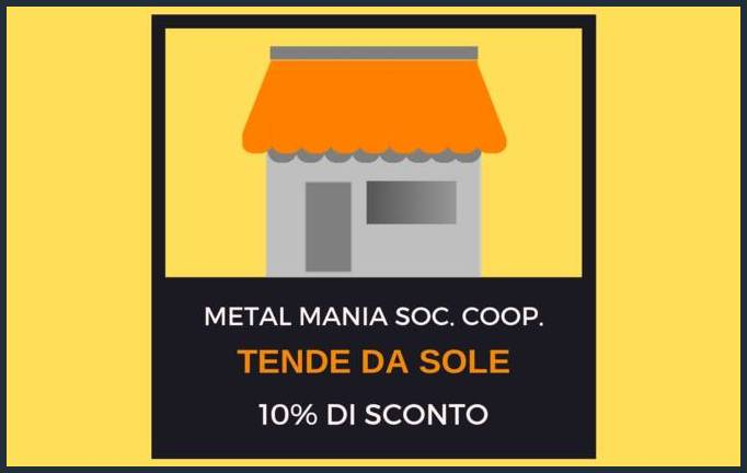 Offerta Marzo - Metal Mania Soc. Coop. SCONTO-METAL-MANIA-SITO