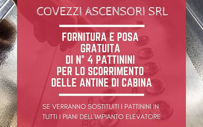 Offerta Maggio - Covezzi Ascensori Srl COVEZZI-SITO