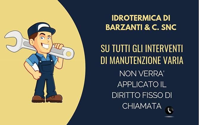 Offerta Maggio - Idrotermica Barzanti & C. Snc IDROTERMICA-SITO