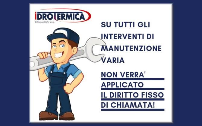 Offerta Settembre - Idrotermica Barzanti & C. Snc BARZANTI-SITO