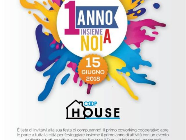 1° Compleanno COOP HOUSE